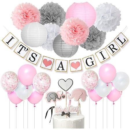 Its A Rose Fille Ballons Forme Coeur Balons pour Anniversaire Fête Bébé Douche