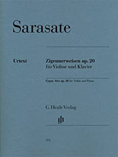Sarasate: Zigeunerweisen, Op. 20 (Gypsy Airs) (English, German and French Edition)