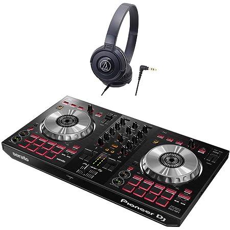 Pioneer DJ DDJ-SB3 デジタル DJ初心者セットLite ブラック [本体+Serato DJ Lite+ audio-technicaヘッドホン] パイオニア