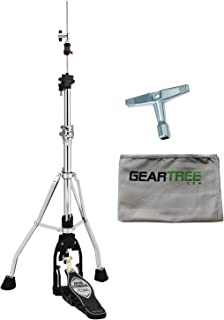 Tama HH905D Iron Cobra Lever Glide Hi Hat Stand w/Cleaning Cloth and Drum Key