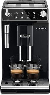 De'longhi Autentica - Cafetera Superautomática para Espresso y Cappuccino, 2 Tazas, Depósito de Agua de 1.3 L, Molinillo d...