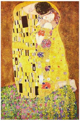 1art1 Gustav Klimt - Der Kuss, 1908 Poster 91 x 61 cm
