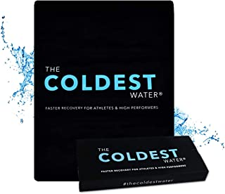 The Coldest Ice Pack Large Flexible Gel Ice Pack and Wrap Specific for Cold Therapy..
