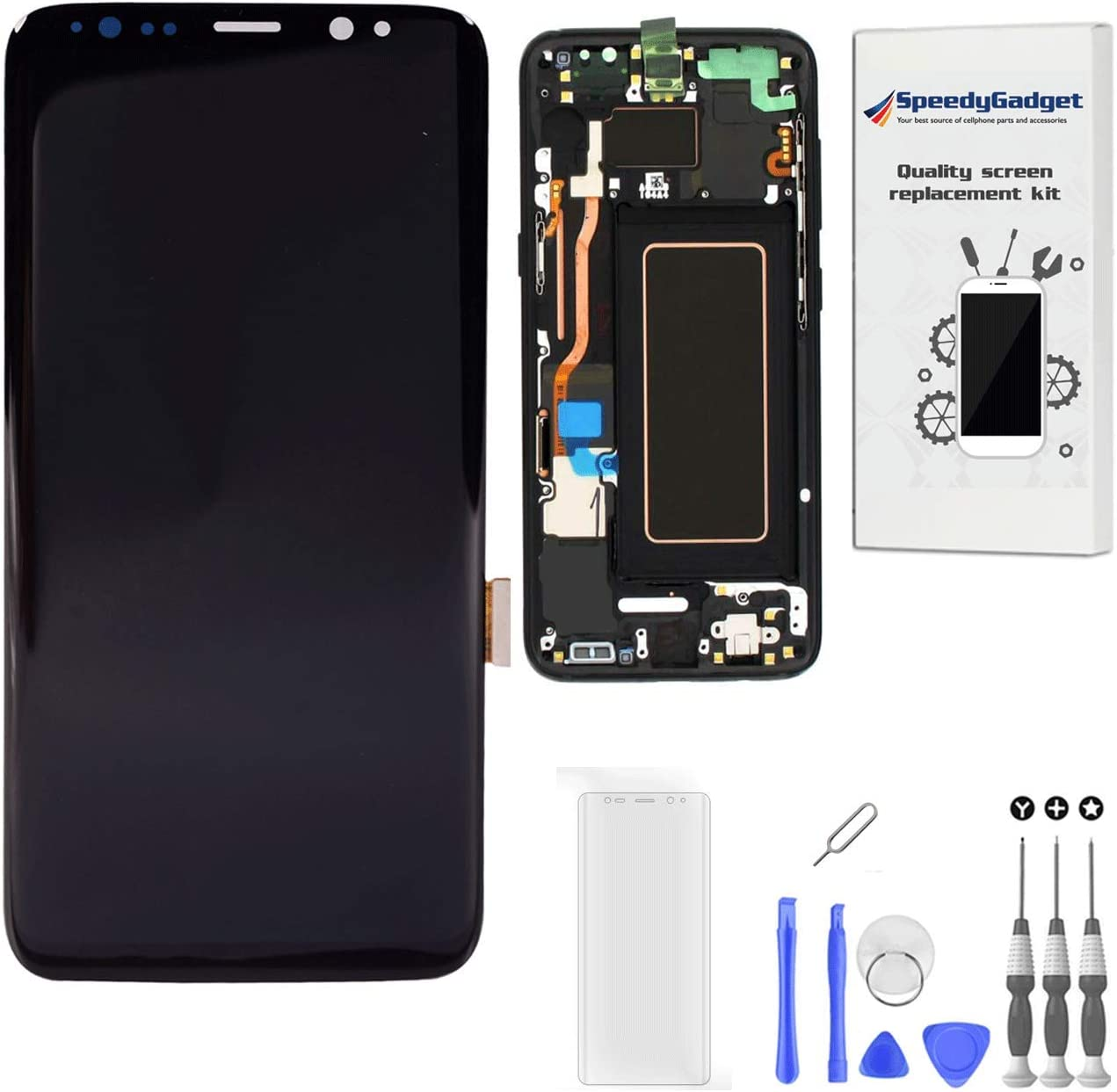 Black with Frame - Amoled Seasonal Wrap Introduction Replac Touch Max 71% OFF Assembly Digitizer Screen