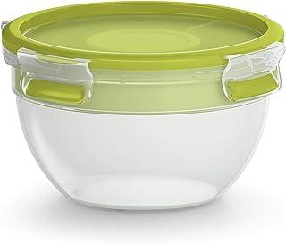 Tefal MasterSeal To Go Salata Saklama Kabı, Plastik, 1 Litre, Şeffaf