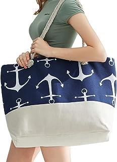 Beach Bag Large Beach Totes Bags for Women Beach Supplies...