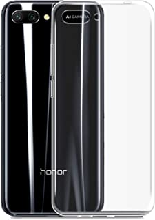 NEW'C Hoesje voor Honor 10, siliconen TPU transparant - HD Crystal Clear