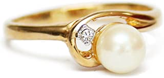 Best gold plated pearl ring Reviews