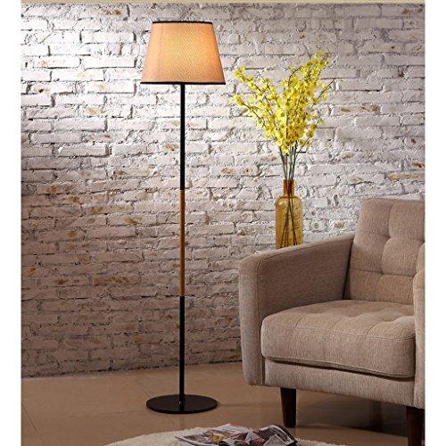 Stehlampe MEILING Modern, Wohnzimmer, Einfach, Nordeuropa, Mode, Holzstamm, Lampenschirm, Wohnzimmer, Lichter, Studie, Warm