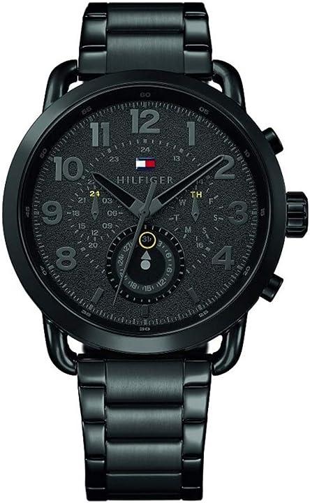 Orologio tommy hilfiger multi-quadrante quarzo orologio da polso 1791423