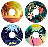 Lil Sucker Tropical Suction Ring - 4 Pack