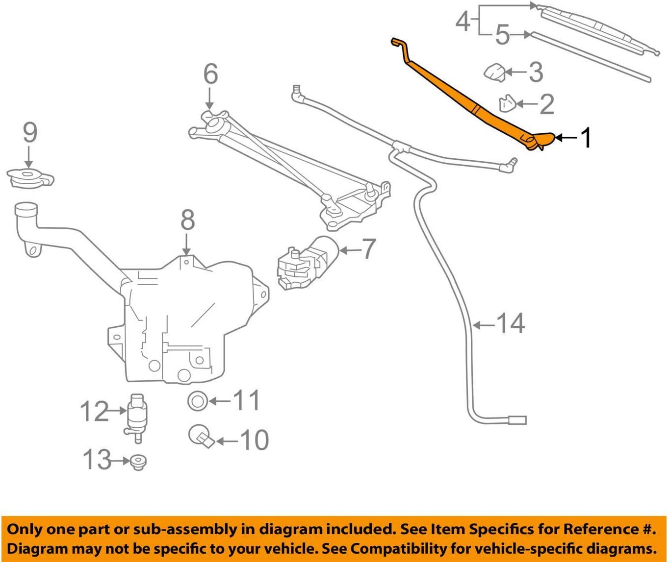 Super Special SALE held General Motors 22756329 Spasm price Arm Wiper Windshield