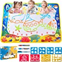 Liberry Aqua Magic Water Color Doodle Mat for Kids