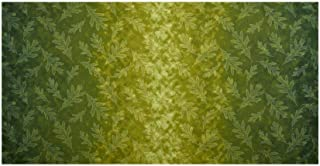Kaufman Giving Thanks Ombre Green Fabric by the Yard