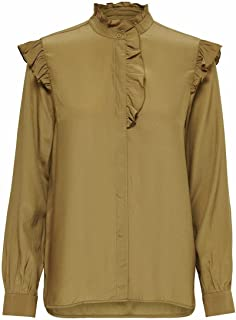 Only Women's Onlelva Ls Shirt Cc Wvn Blouse