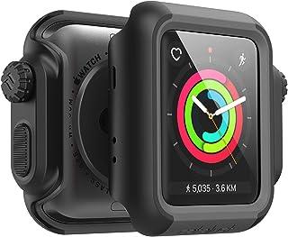 Catalyyst - para Apple Watch Series 3 y Serie 2 de 42mm - Protección contra Impactos a Prueba de Golpes [Caja Protectora Robusta iWatch], Negro sigiloso