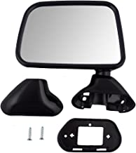 Drivers Manual Side View Door Skin Mounted Textured Mirror Replacement for Toyota Pickup Truck with vent window 87940-89141 AutoAndArt