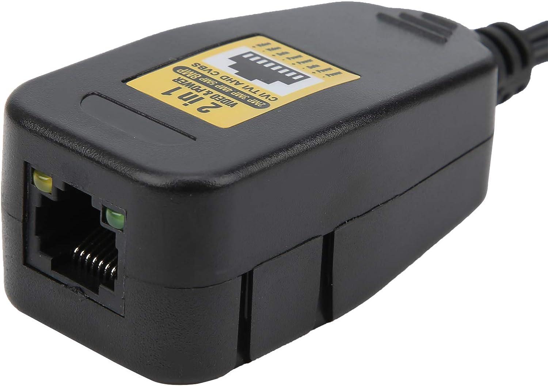 Transceptor de video balun, transmisor de video HD profesional de 4 piezas, transmisión, para protección contra sobretensiones Thunder Portable