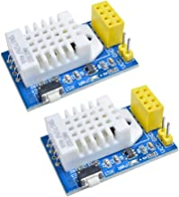 diymore 2pcs DHT22 AM2302 Temperature Humidity Sensor Wireless ESP8266 ESP-01/01S Adapter WiFi Shield Board Replace SHT11 SHT15