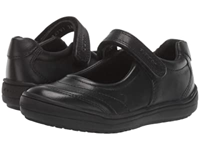 Geox Kids Jr Hadriel 15 (Little Kid) (Black Oxford) Girls Shoes