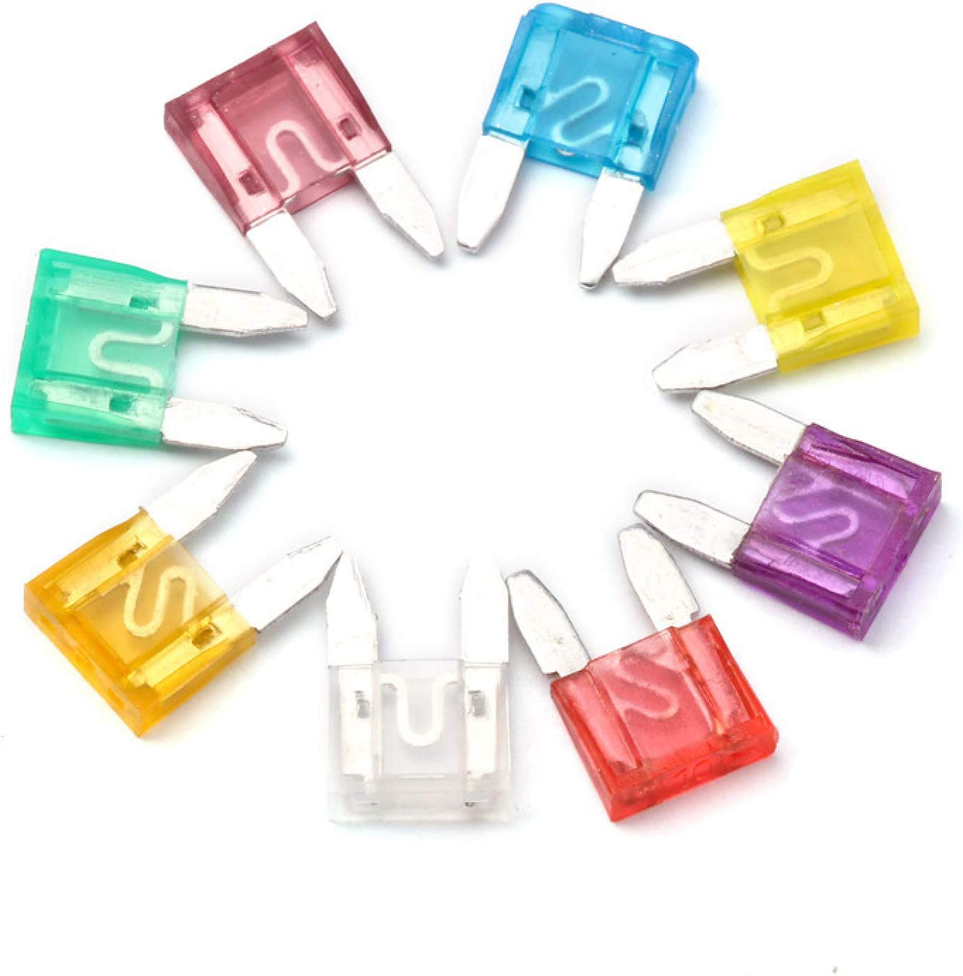 Indianapolis low-pricing Mall Piaobaige 160PCS Mini 3-40 Amp Automobile Standard Security Fuse