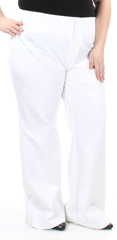 Inc Womens Twill Curvy Fit Dress Pants