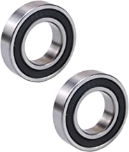 WPHMOTO 2pcs 20x37x9mm 6904RS Bearings Rubber Sealed Deep Groove Ball Bearing for Pit Dirt Bike