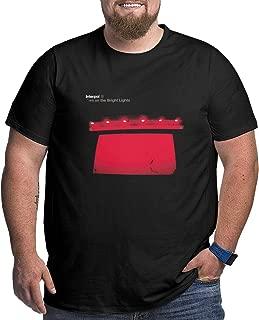 Men's Interpol Turn On The Bright Lights Big Size T-Shirt Black 3XL