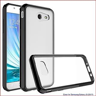 Samsung Galaxy J3 Emerge / J3 Prime / J3 2017 / Amp Prime 2 / Express Prime 2 Case, AUSURE Soft TPU Crystal Ultra Slim Shockproof Case Cover for Samsung Galaxy J3 Emerge / J3 2017 / J327P (Black)
