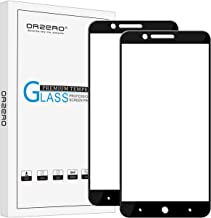 Orzero (2 Pack) Compatible for ZTE Blade Z Max, Z982, Zmax Pro 2, ZTE Sequoia Blade Tempered Glass Screen Protector, (Full Coverage) 2.5D Arc Edges 9 Hardness HD (Lifetime Replacement Warranty)-Black