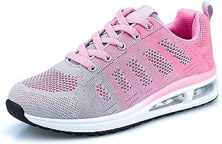 WYSBAOSHU Femme Gym Fitness Sport Baskets Chaussures de Course Légères et Respirantes pour Femmes