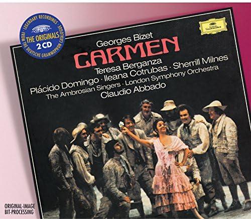 Teresa Berganza, Plácido Domingo, Claudio Abbado & Georges Bizet