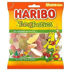 haribo tangfastics, bulk sour sweets, 140g, pack of 12 (1.7kg) Haribo Tangfastics, Bulk Sour Sweets, 140g, Pack of 12 (1.7kg) 619qeWUVbGL