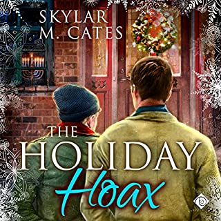 The Holiday Hoax audiobook cover art