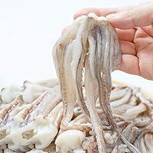 ディメール 青森県 八戸産 スルメイカげそ 中型サイズ1kg 目下カットで下処理不要