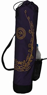 Boon Décor Yoga Mat Bag Om and Golden Lotus Om Universe