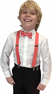 Spencer J's Boys X Suspenders & Bowtie مجموعه ای از انواع رنگ ها را تنظیم می کند