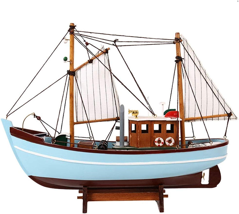 FENDOUBA Massivholz SegelStiefel Modell Dekoration Ornamente Handwerk Dekoration Geschenk for for Erwachsene Und Kinder Keine Notwendigkeit Zu Montieren. Esculturas (Farbe   A)  Willkommen zu kaufen