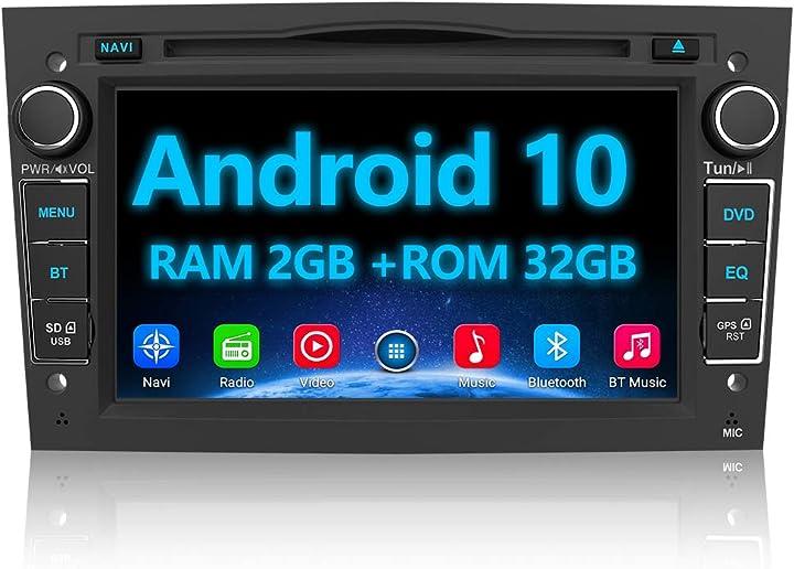 Autoradio 2 din per opel meriva corsa zafira vivaro antara android 10.0 [2g+32gb] car radio awesafe 7 pollici TH-IT-M8PB