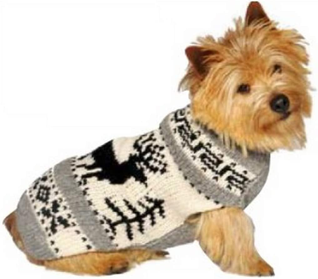 Super Max 74% OFF sale Chilly Dog Reindeer Sweater Large Shawl