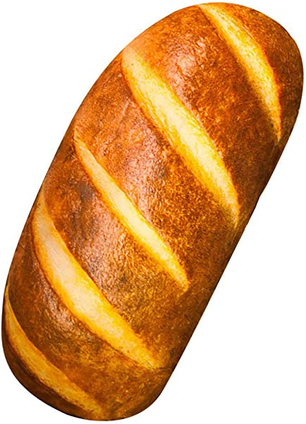 Elfishgo 3D Simulation Bread Shape Pillow Soft Butter Bread Food Plush Cushion Stuffed Toy For Home Decor 15 7