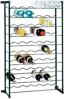 Casier acier plastifié Duhallé - Noir - 60 bouteilles