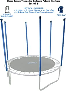 Upper Bounce Trampoline Safety Enclosure Poles & Hardware