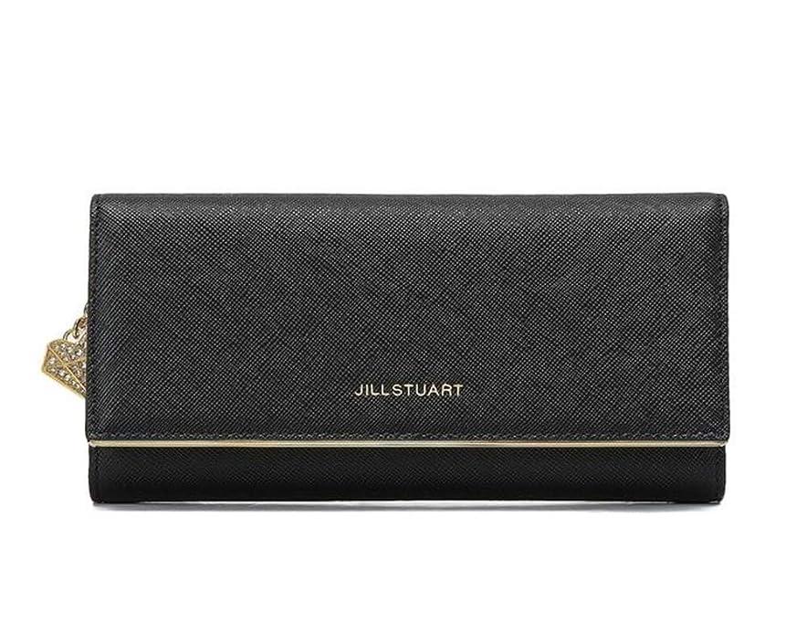 航空会社形容詞豊かな[ジルスチュアート]JILL STUART ACC BLACKオーシャンエンボ牛の皮財布、女性らしいカードホールダーケース財布、収納空間、人気 [並行輸入品]