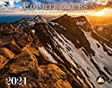 Colorado Fourteeners 2021 Deluxe Wall Calendar