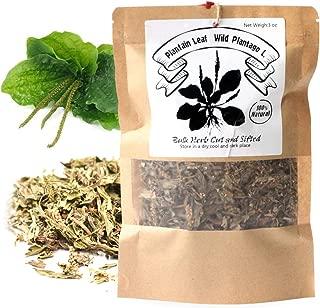 EidolonGreen [China Medicinal Herb] Plantain Leaf/Wild Plantago ovata,(cheqiancao/车前草/질경이)Natural Health Tea (3 oz/88g)