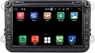8 Inch TouchscreenAndroid 10.0 OS Car Radio Compatible with Volkswagen Tiguan(2007-2013), 4GB RAM+64GB ROM, DVD Player Blu...