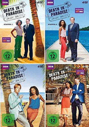 Produktbild Death in Paradise - Staffel 1-4 im Set - Deutsche Originalware [16 DVDs]