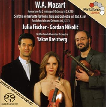 Mozart: Sinfonia Concertante, K. 364 / Concertone in C Major, K. 190 / Rondo in C Major, K. 373