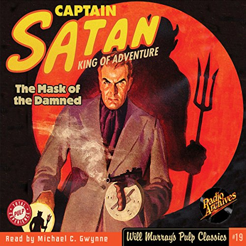 Captain Satan #1, March 1938 audiobook cover art